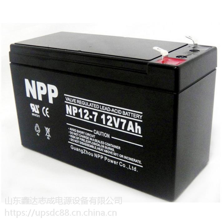 耐普蓄电池价格/NPP铅酸蓄电池报价