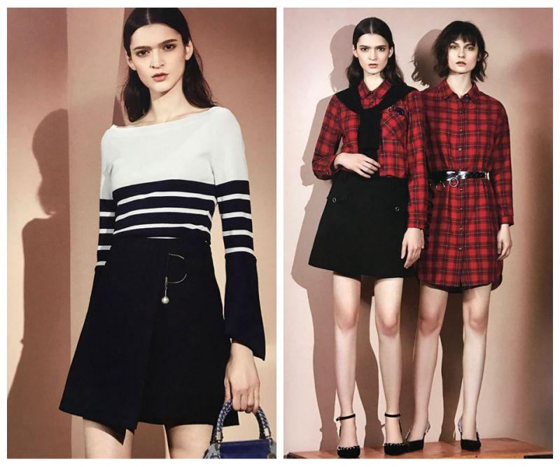 时尚韩版茜可可女装品牌折扣春装批发市场