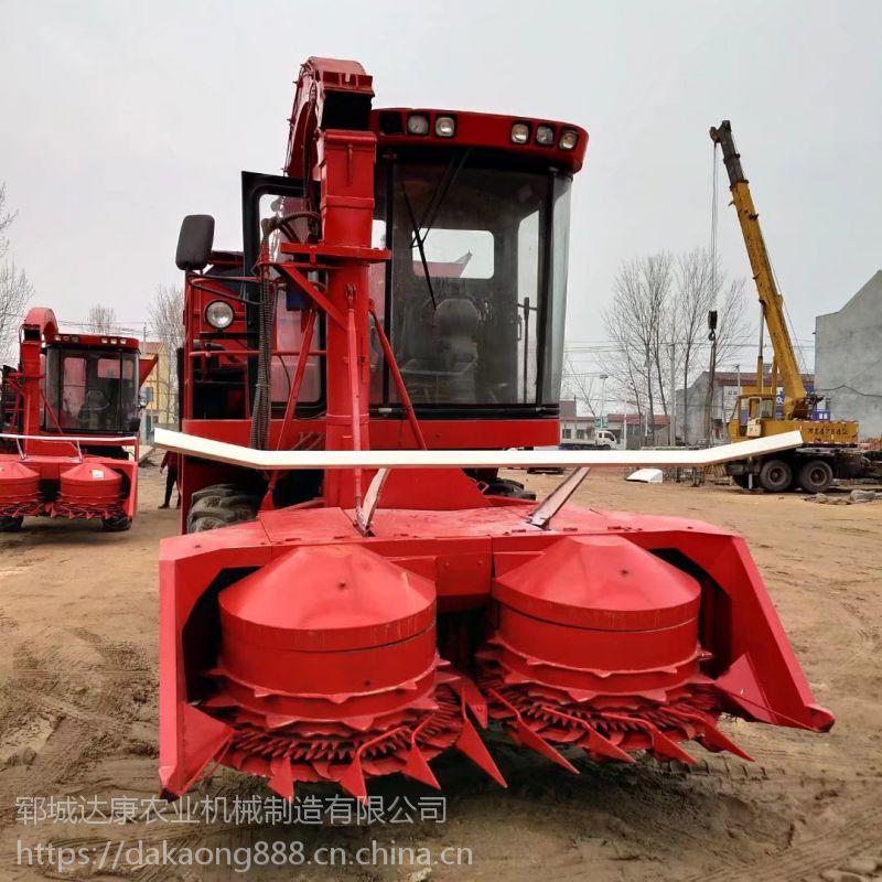 大型青储机 自走式玉米秸秆回收青储机