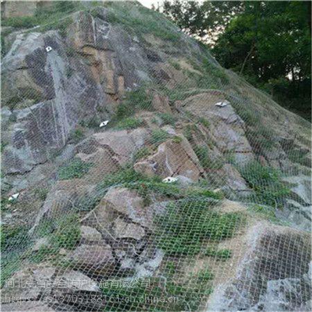 边坡防护网@日喀则边坡防护网@河北安首厂家