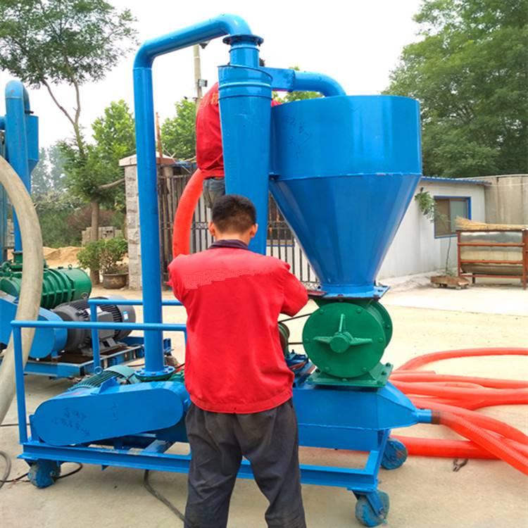 [都用]化肥粒气力输送机 不锈钢气力吸粮机价格 农场专用吸粮机型号