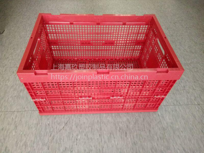 有盖塑料可回收的标准箱上海