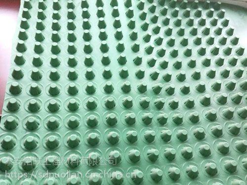 山东隧道用塑料排水板多少钱一平方?屋顶绿化的排水板多少钱一平方