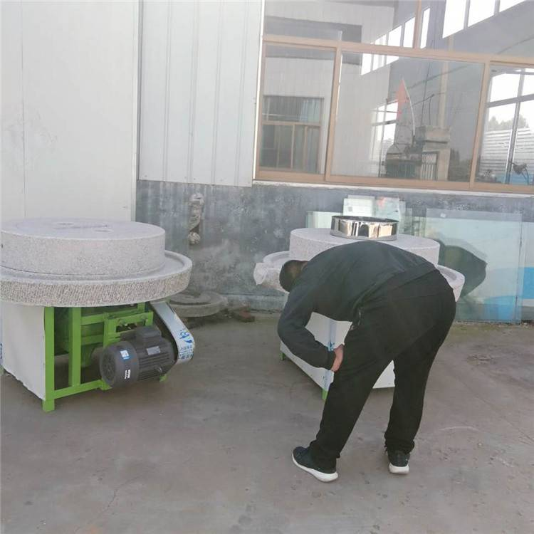 信达批发多功能电动芝麻酱石磨香油机 豆腐豆浆电动石磨参数价格