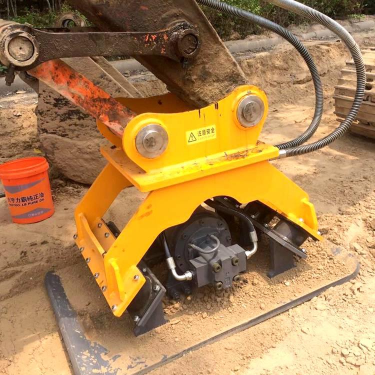 工厂直销挖掘机液压振动夯实器 斜坡夯 现货定金发货