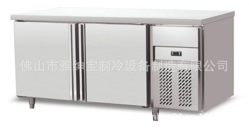 tz15l2不锈钢风冷柜厨房设备 酒店ktv冰柜 卧式平台双门雪柜图片