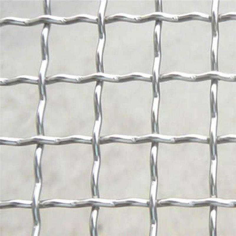 改拔丝轧花网 煤矿轧花网规格 猪床编织网