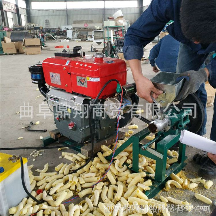 自产自销江米棍柴油机 麻花汽油膨化机 休闲食品膨化机 新款膨化