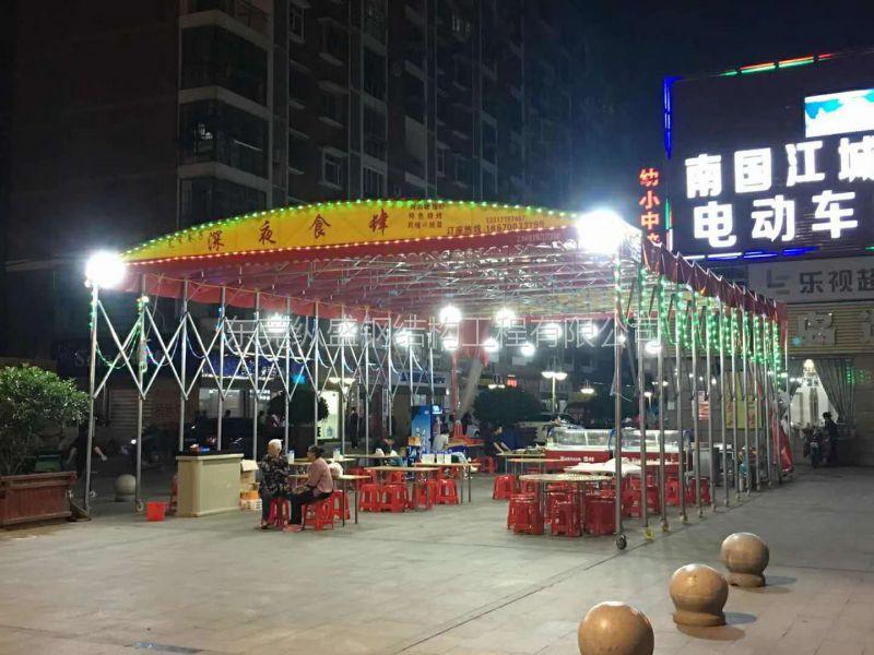 北京厂家定做物流推拉蓬 户外活动帐篷 收缩帐棚帆布