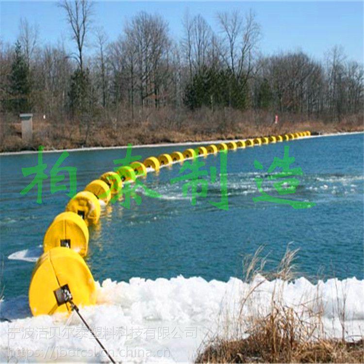 浮筒水面拦截垃圾有效治理漂浮物垃圾浮排厂家