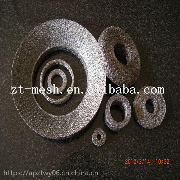 厂家直销钢丝软垫、消音器垫圈、钢丝压垫【兆通长期供应】