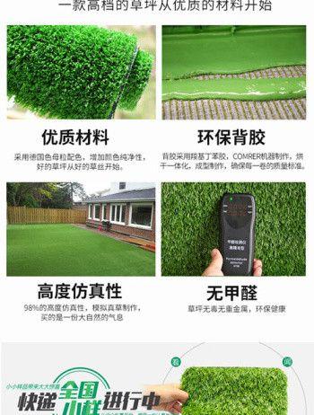 【经验谈如何正确购买】 30mm加密人造草坪仿真草坪 无毒
