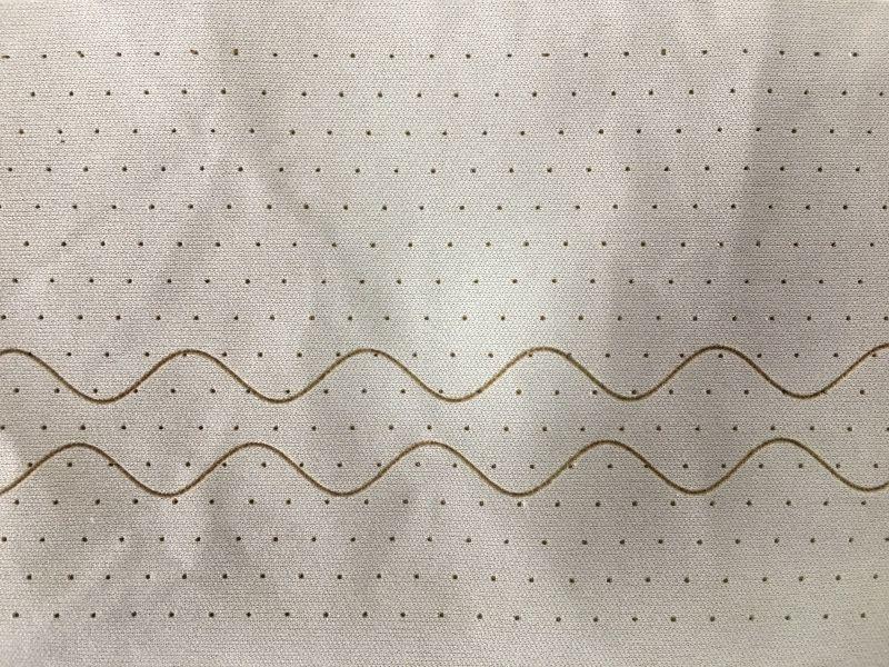 塑料薄膜激光打孔机----莱塞激光复卷模切机