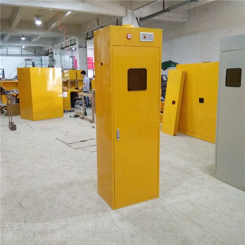 智能气瓶柜 学校专用气体柜 实验室报警气瓶安全柜