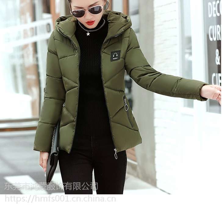 厂家全新加厚女式羽绒服批发低价十几块钱羽绒棉衣外套供应韩版外套批发