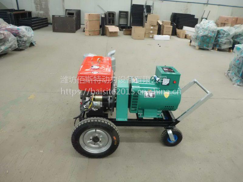 常州24KW千瓦单缸水冷柴油发电机组 养殖停电备用移动式发电机