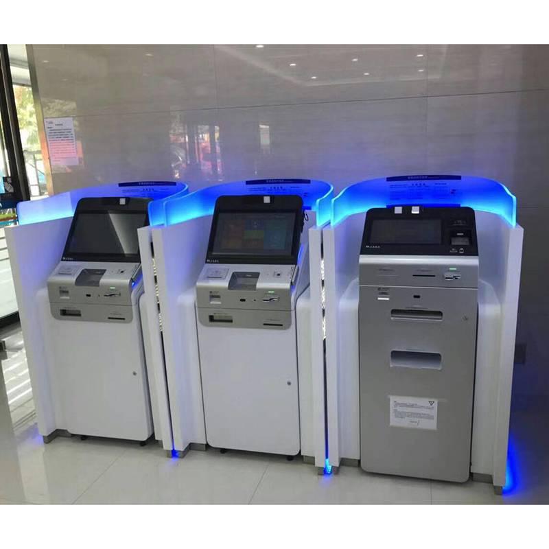 交通银行智易通柜员智能机具设备隔断机罩灯箱厂家价格