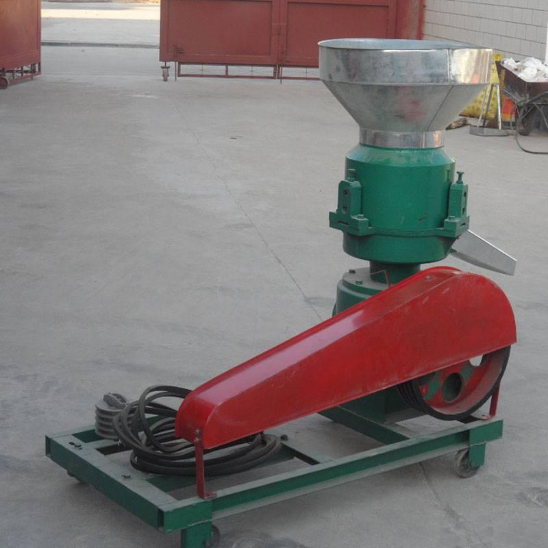 农作物秸秆压制颗粒机 小型家用饲料颗粒机 颗粒饲料机
