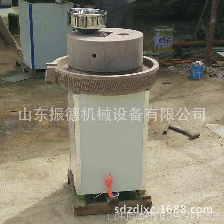热销 电动香油石磨机 新款豆浆电动石磨 电动石磨芝麻机 振德