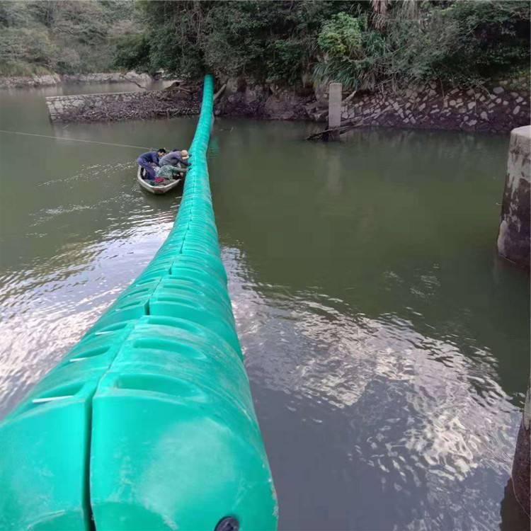 柏泰水电站拦污排 拦污栅浮筒 效果显著
