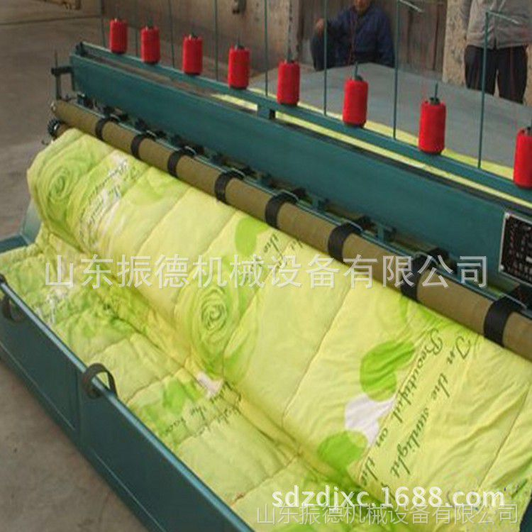 振德直销大棚保温被缝被机 实用型多针底线引被机 引被机厂家