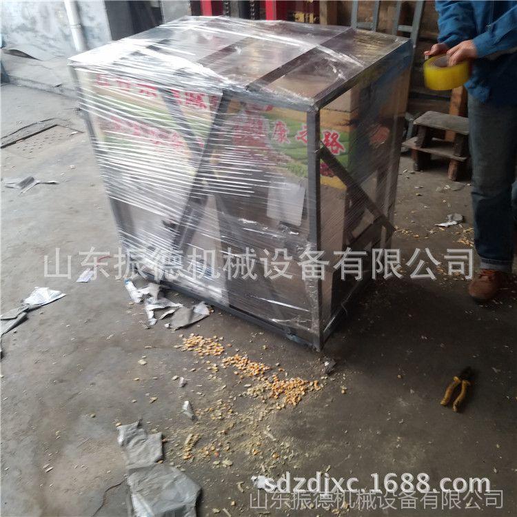 辽宁 汽油暗仓食品膨化机 焦米棍机 绿豆四缸膨化机 振德生产