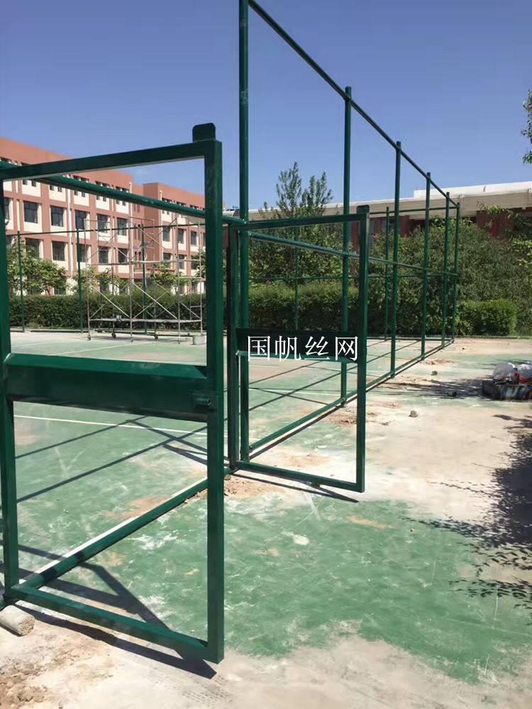 质量好足球场围网多少钱 国帆丝网篮球场围栏网