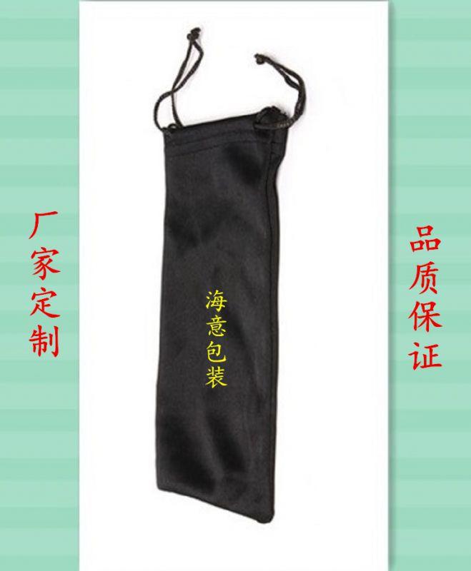 厂家定制眼镜布袋 超纤维袋 束口袋 眼睛袋 可印logo