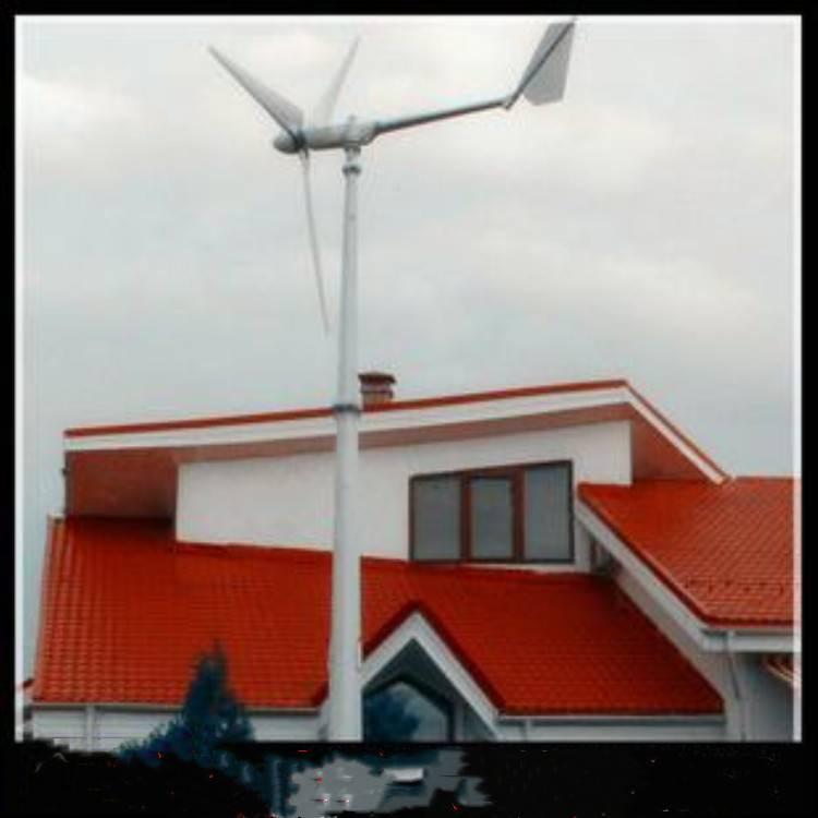 晟成1000w小型高效家用风力发电机工程 机组有超强的防水、防腐蚀性