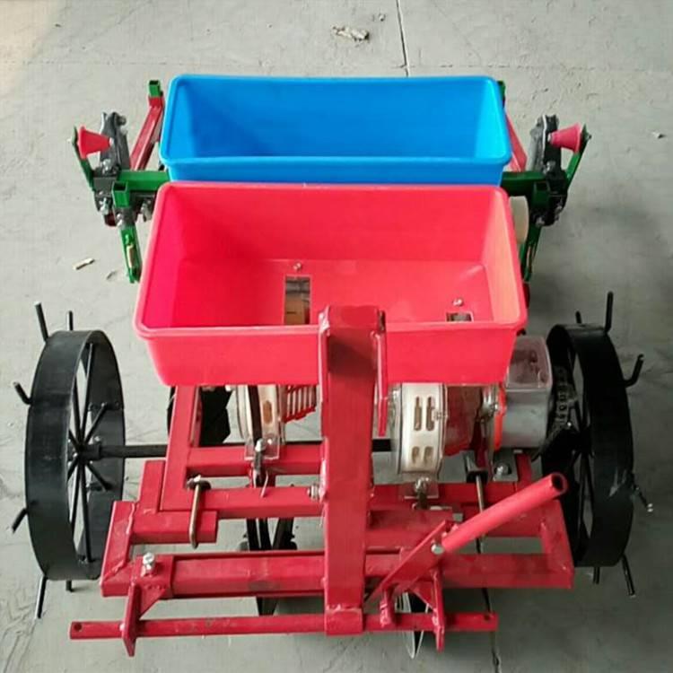 手扶拖拉机播种机 小型花生播种机 优质花生覆膜机