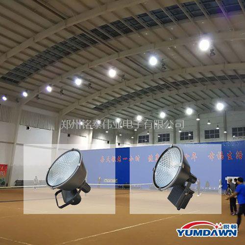 网球馆照明布灯,网球场用灯标准,网球场灯光设计