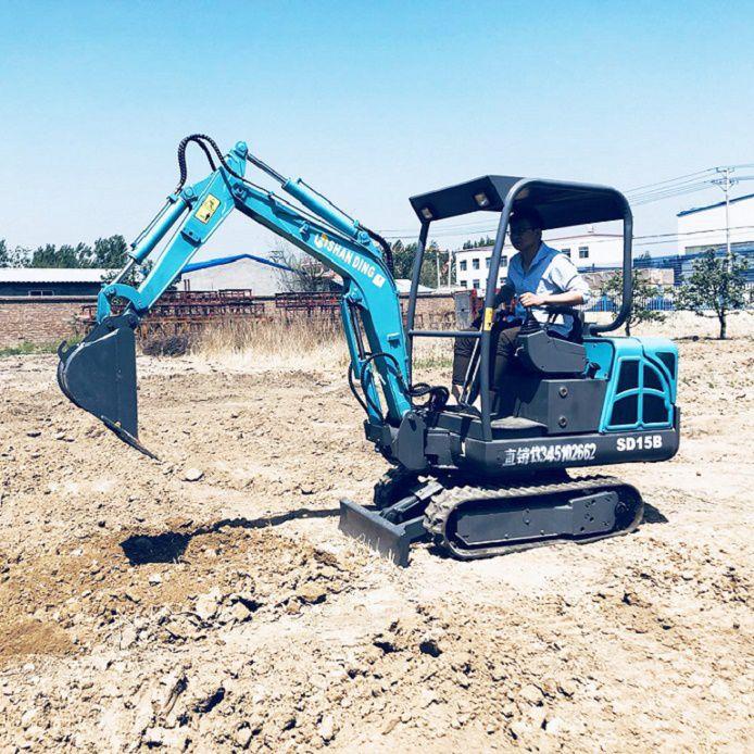 农用小型挖掘机多少钱一台