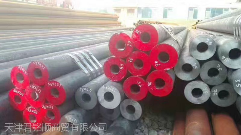天津大邱庄无缝管,20#、16Mn,可定尺排产,大量库存。