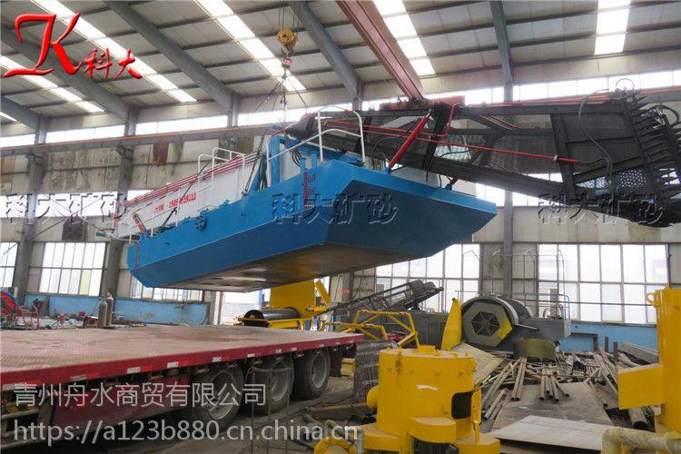水葫芦打捞船 收割水葫芦设施 水花生清理船