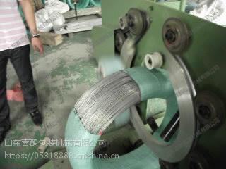 喜鹊镀锌铁丝缠绕包装机、镀锌铁丝编织带包装机、镀锌铁丝缠绕机