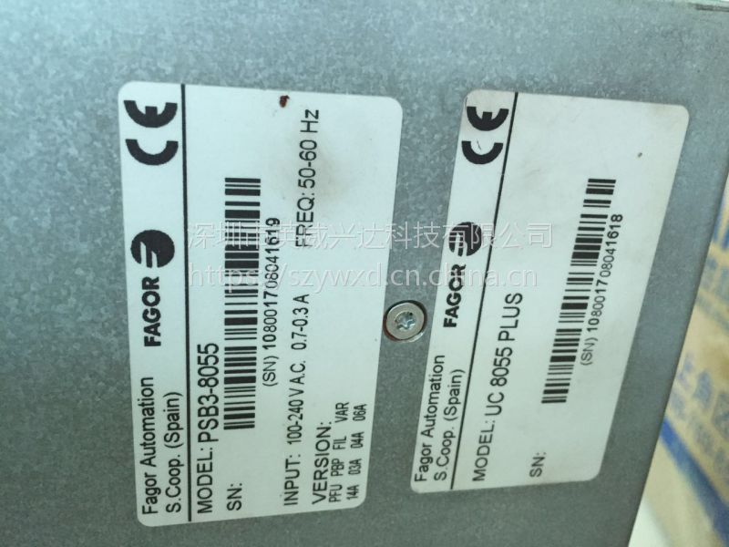 CNC8055i PLUS-M-COL-K CN55IP-GP-CK-A-B-4.8040成都发格