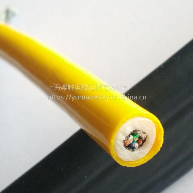 2*13/14/15/16/17AWG+单芯单模光纤复合零浮力电缆