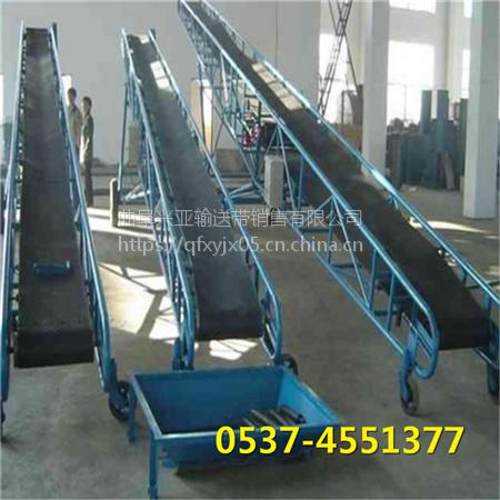 郴州食品厂专用pvc皮带机 兴亚电动滚筒带式输送机