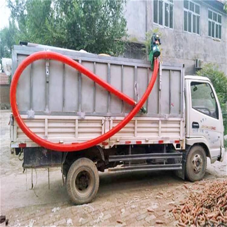 化工小颗粒运输机 小体积软管吸粮机 电动机抽粮新款