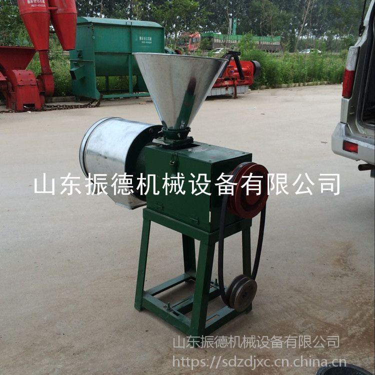 新型五谷杂粮磨面机 家用小型苞谷面粉机 格 电动锥形面粉机 振德牌