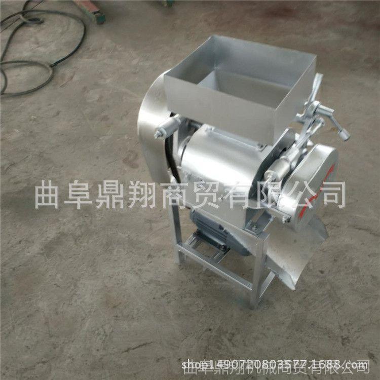 挤扁机生产厂家 对辊式豆扁机 大型商用碾扁机 新型大豆挤扁机