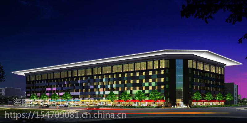 杭州萧山区景观照明工程/杭州建筑照明设计、杭州市大楼灯光