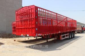 江西厂家长期供应仓栅式运输半挂车,欢迎咨询