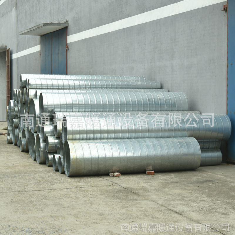 厂家直销304 不锈钢螺旋通风管道 承接酒店厨房排油烟 镀锌风管