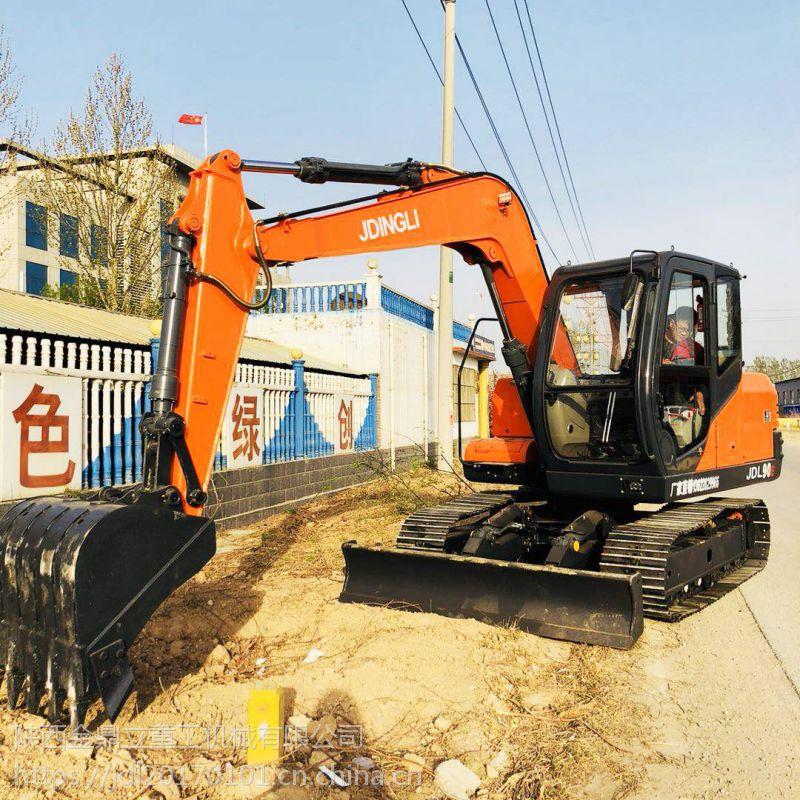 建筑工程小型挖掘机 动力强劲90履带挖掘机多少钱一台
