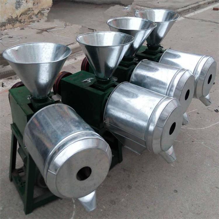 超细多功能粮食磨面机 小型家用饲料磨粉机 卧式高产量面粉机
