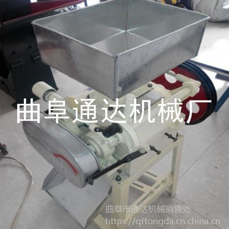 蚌埠 稻谷破碎机销售电话多少 通达 小型粮食破碎机订购 多功能挤扁机参数
