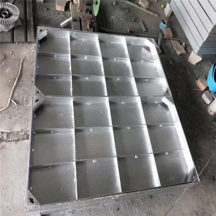 昆山金聚进隐形不锈钢井盖加工定制厂家价格