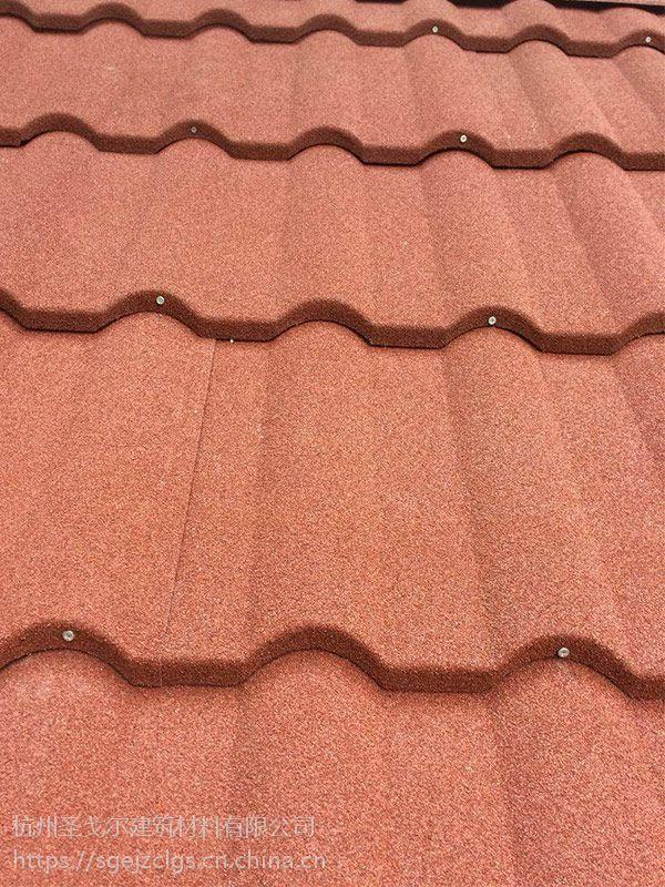 自贡彩石金属瓦屋面瓦材质轻便价格