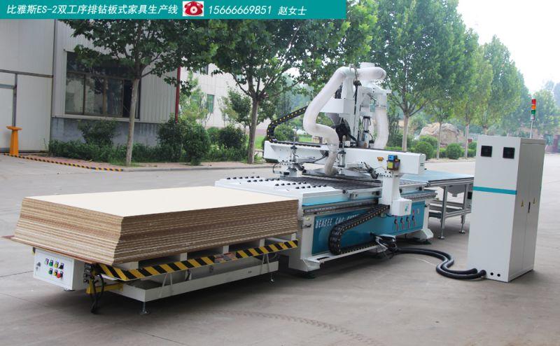 木工加工中心 衣柜数控开料机